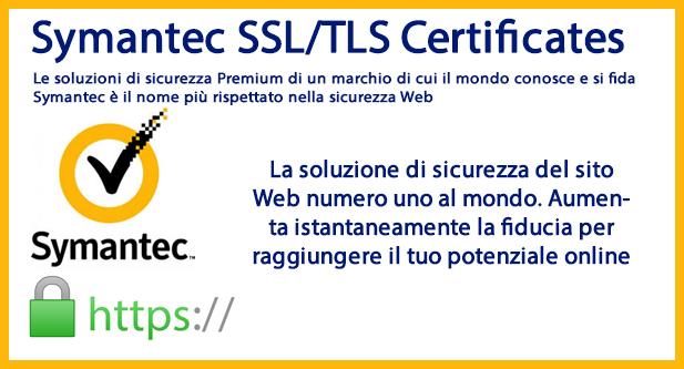 certificato ssl symantec